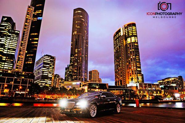 Black Chrysler Sedan Hire