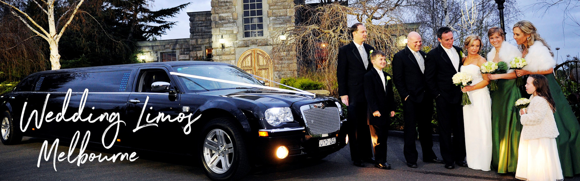 Wedding Limos Melbourne - Enrik Limousines