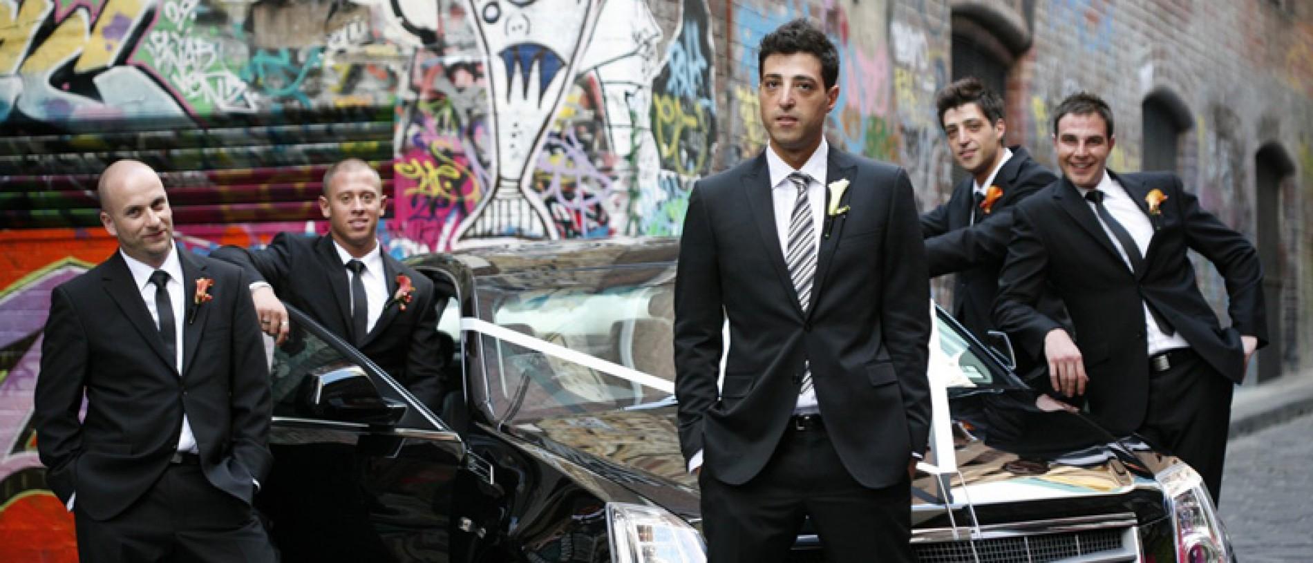 Black Chrysler Limo Hire Melbourne