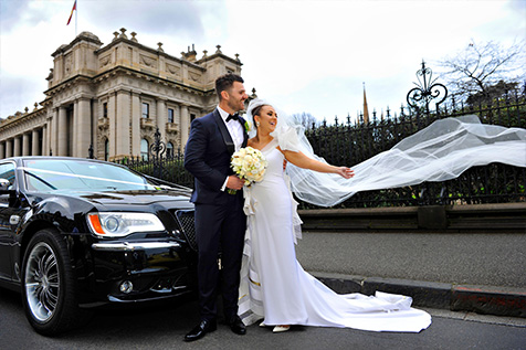Luxury Wedding Limo Hire Melbourne