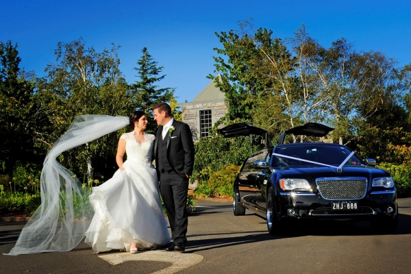 Dark Angel Wedding Limousine Melbourne
