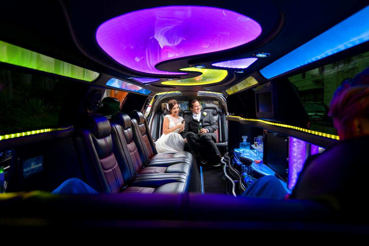 limousine hire at Quat Quatta receptions