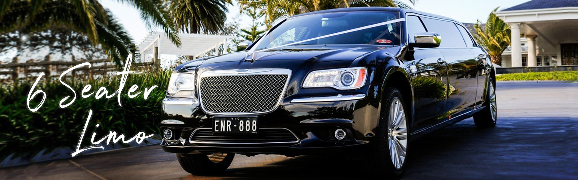 Black Chrysler 7 seater Limo Hire Melbourne