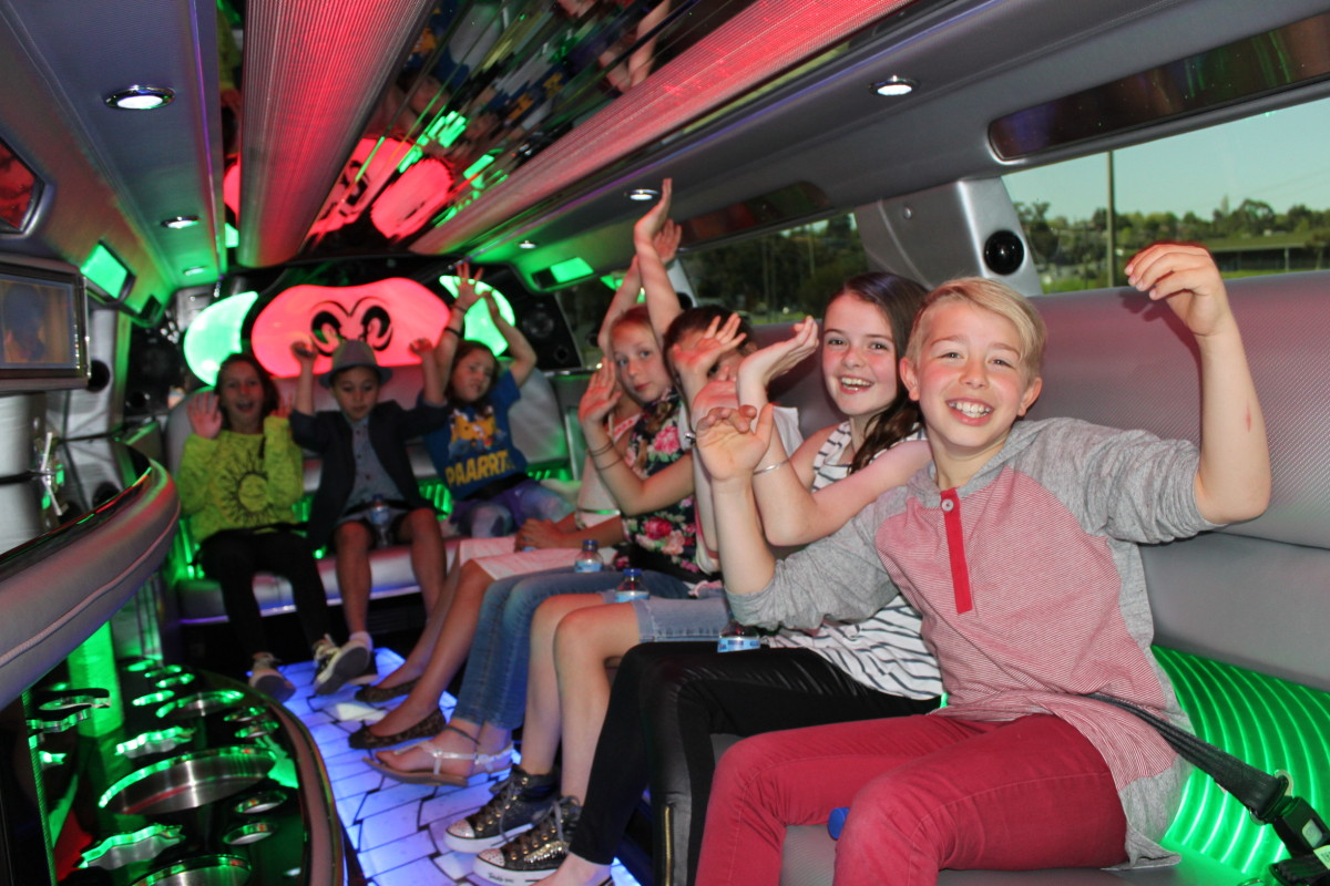 Limo Hire Melbourne Kids Party
