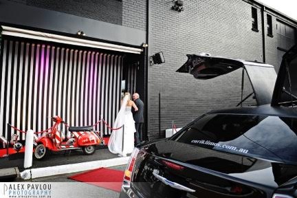 Red Scooter Limo Hire