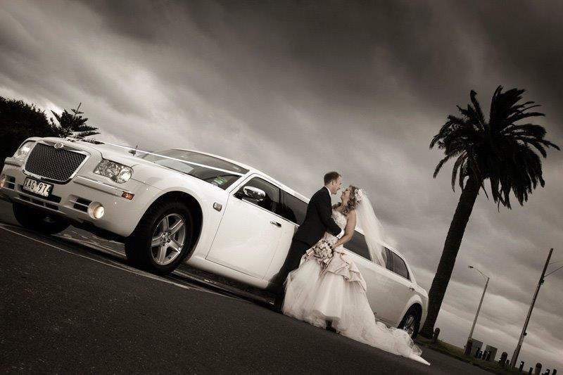 winter weddings limo hire