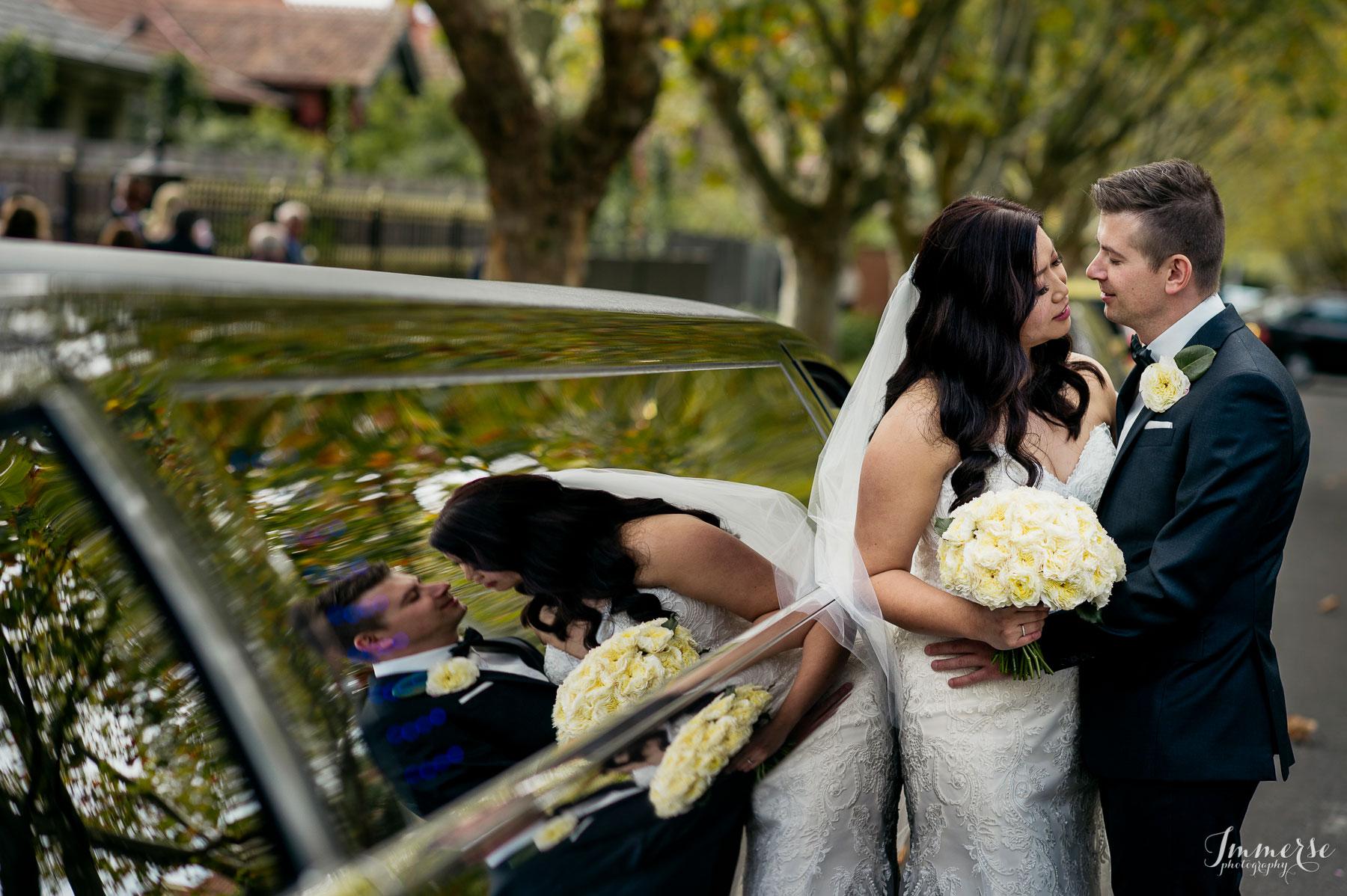 Melbourne Garden Wedding Limo Hire