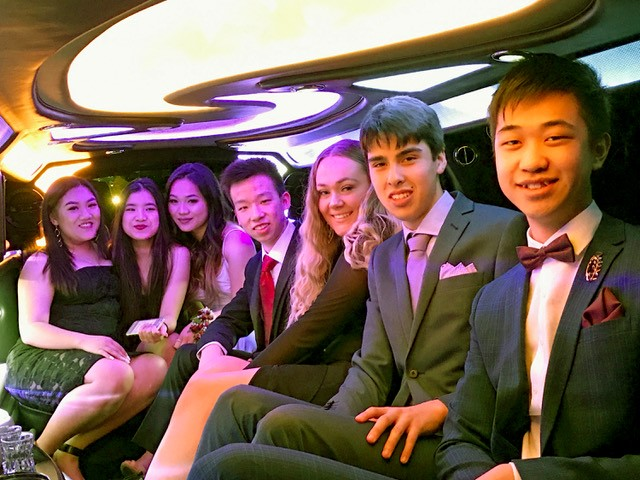 School Event Limousine Hire