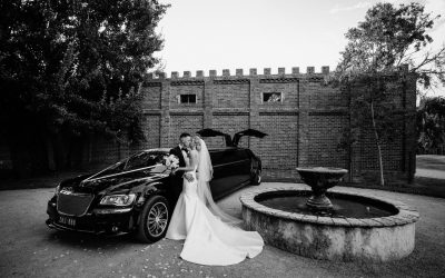 Stones of the Yarra Valley Wedding Limo Hire – Zoe and Tom