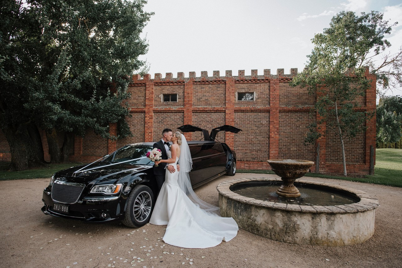 Stones of the Yarra Valley Wedding Limo Hire