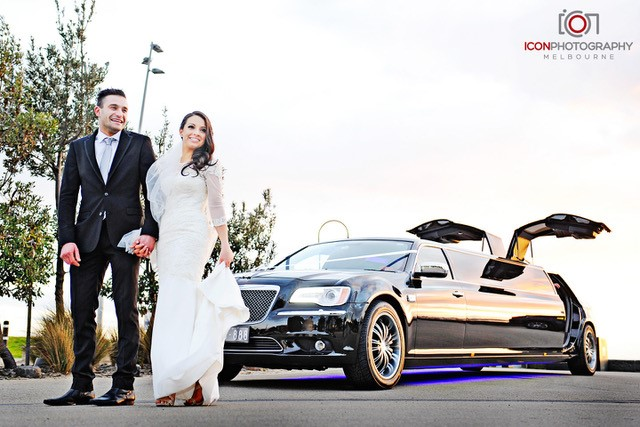 Encore Limo Hire for Your St Kilda Beach Wedding