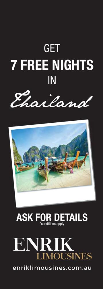 Enrik Limousines - Special Limo Offer Visit Thailand